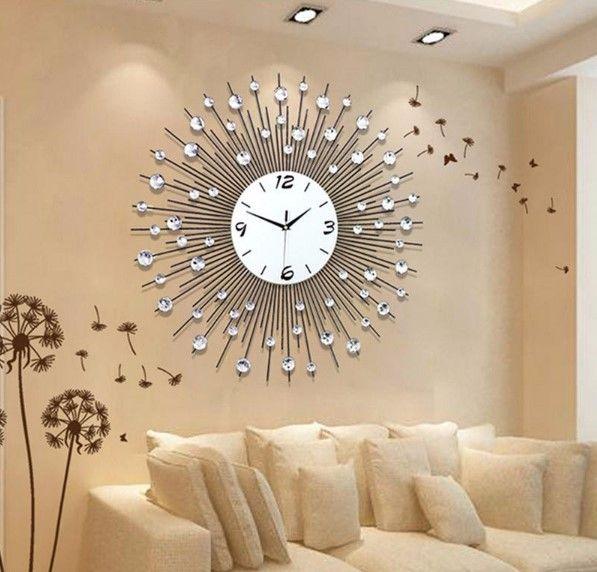 Living Room Elegant Wall Clock