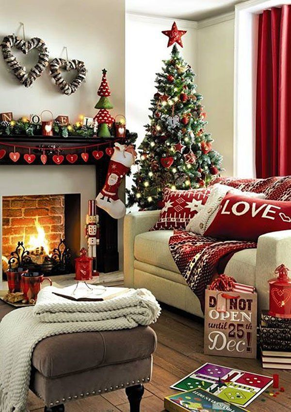 Living Room Christmas Decor Ideas
